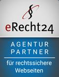 eRecht24 - Agenturpartner für rechtssichere Webseiten (DSGVO)
