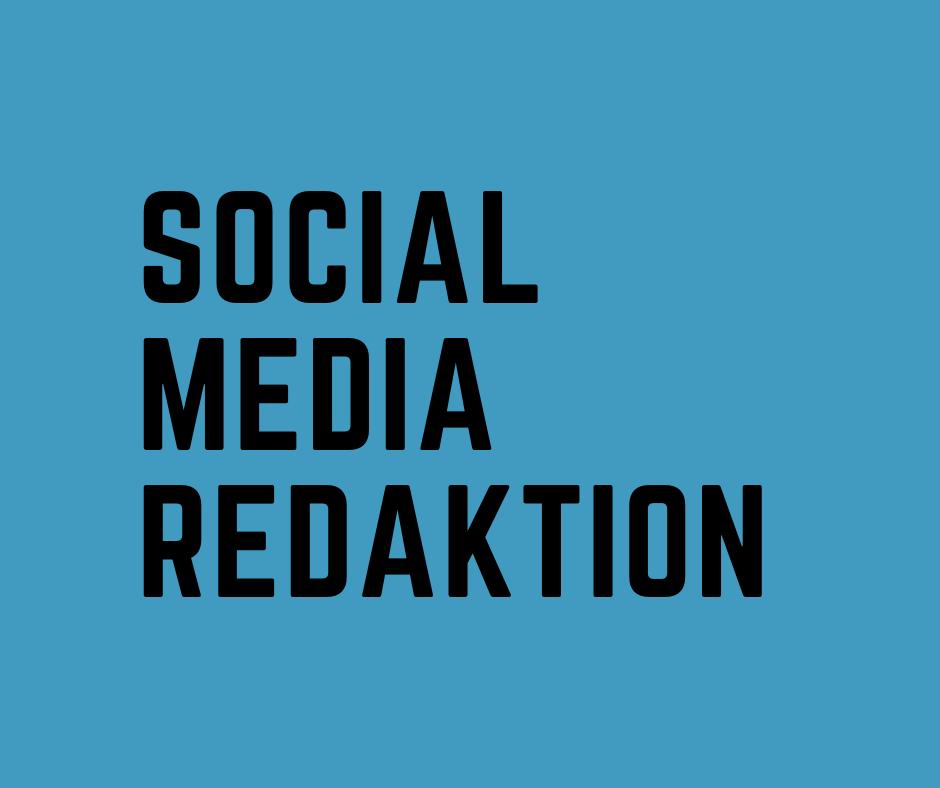 Social Media-Redaktion