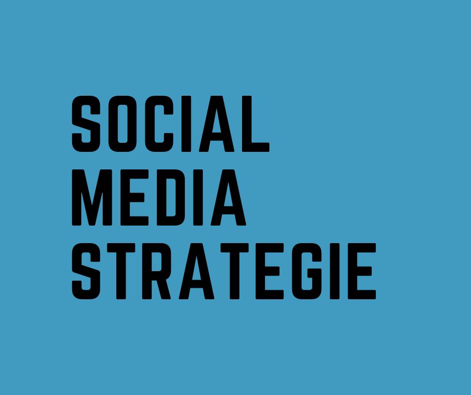 Social Media-Strategie