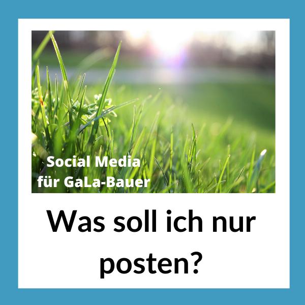 Social Media im Garten- und Landschaftsbau